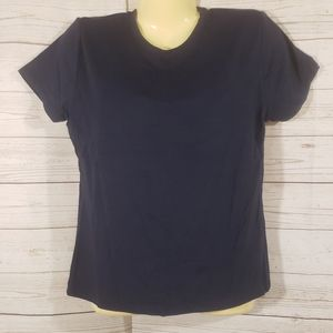 2 for 15 NWT ESprit Navy Blue Tee